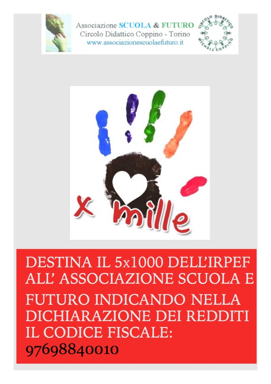 5x mille associazione scuola e futuro