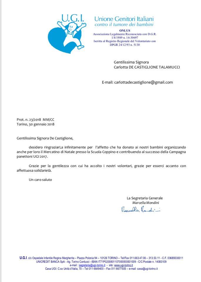 Lettera Ugi 2017